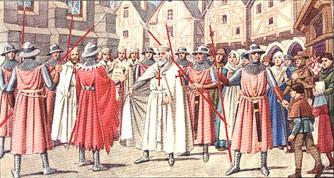 L'arresto del Gran Maestro Jacques de Molay